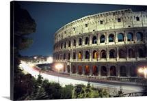 Colosseum, Appian Way, Rome, Italy