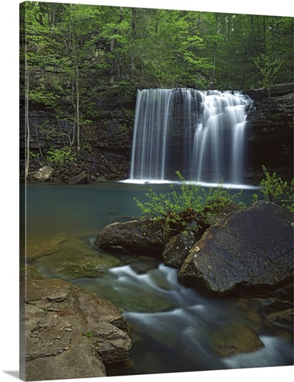 Arkansas Ozark St Francis National Forest Twin Falls On