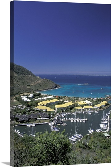 caribbean west indies st martin anse narcel le meridien hotel photo canvas print