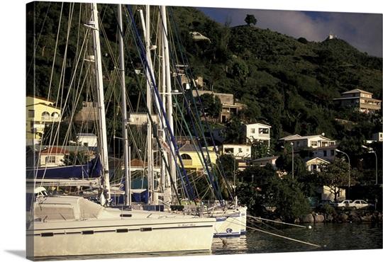 Caribbean french west indies st martin marigot marina - Marina port la royale marigot st martin ...
