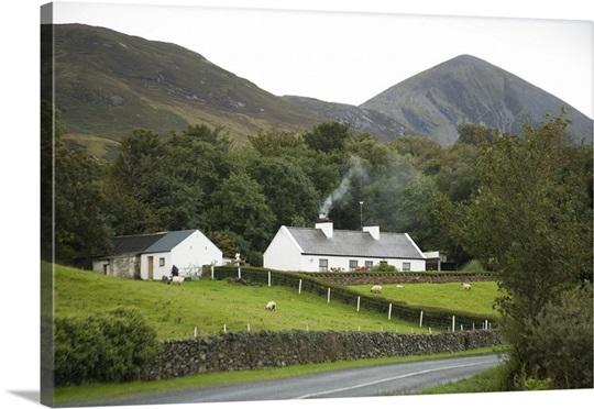 Farmhouse ireland smoke countryside architecture for Landscape architect ireland