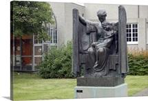 Sculpture garden behind Einar Jonsson Museum, Reykjavik, Iceland