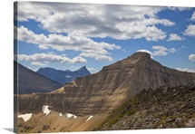 Triple Divide Peak in Glacier National Park, Montana
