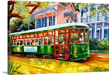 Streetcar in the Garden District