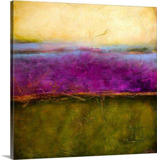 Paisley Haze Ii Photo Canvas Print Great Big Canvas