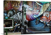 Argentina, Buenos Aires, Avenida de Mayo street