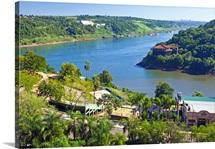 Argentina, Misiones, Puerto Iguazu, Triple Frontier