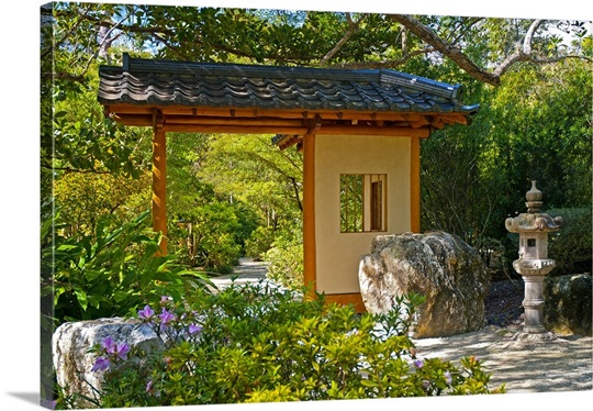 Florida Delray Beach Morikami Museum And Japanese Gardens Photo Canvas Print Great Big Canvas