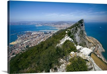 Gibraltar, Mediterranean sea, The Rock, Pillar of Hercules or Calpe