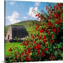 Ireland, County Kerry, an early Christian church