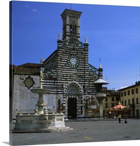 Italy tuscany prato prato piazza del duomo and for Piazza duomo prato