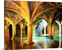 Morocco, El Jadida, Portuguese cistern