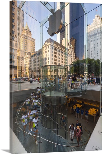 New York City, Manhattan, Apple Store On 59 Street And