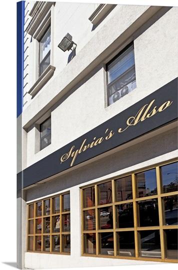 New York New York City Harlem Sylvia S Also Restaurant