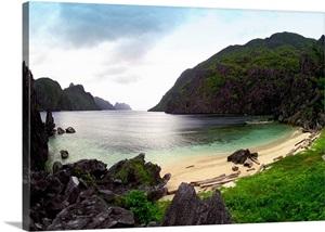 Philippines Palawan El Nido Pangalusian Island Beach