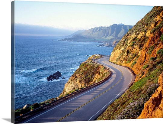 United States, California, Big Sur region, Highway 1 Photo ...