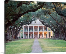 United States, Washington State, Seattle, Oak Alley Plantation House