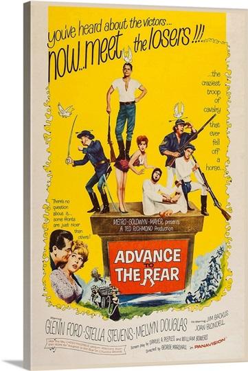 Advance To Rear, Stella Stevens, 1964 Wall Art, Canvas