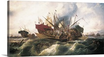 Battle of Lepanto by Antonio Brugada Vila