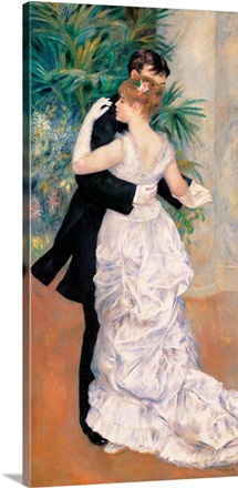 City Dance, by Pierre-Auguste Renoir, 1883. Musee d'Orsay, Paris, France