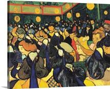 Dance Hall in Arles, by Vincent Van Gogh, 1888. Musee d'Orsay, Paris, France