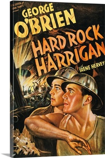 Hard Rock Harrigan - Vintage Movie Poster, 1935