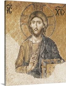 Jesus Christ Blessing, Hagia Sophia, Istanbul, Turkey