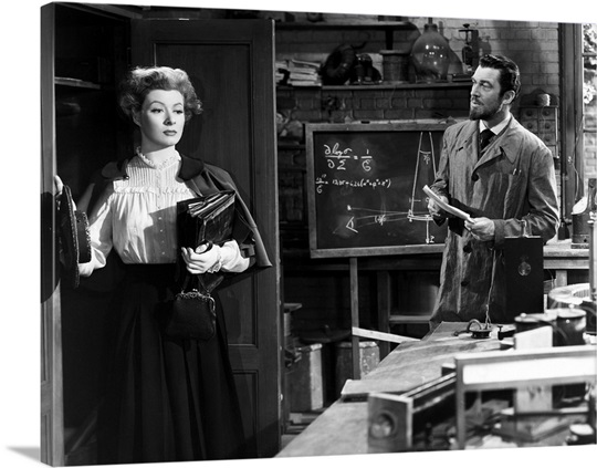 madame curie movie still photo canvas print great big