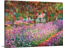 Monet's Garden at Giverny, by Claude Monet, 1900. Musee d'Orsay, Paris, France