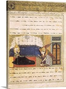 Muhammad in Ecstasy, Islamic art