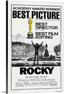 Rocky - Vintage Movie Poster