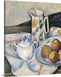 Still Life With Peaches And Pears, By Paul Cezanne, Ca. 1890-1894.