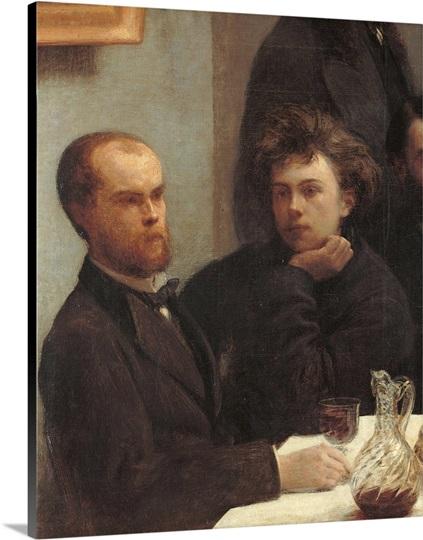 Table corner coin de table by henri fantin latour 1872 - Un coin de table fantin latour ...