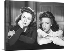 The Hard Way, Joan Leslie and Ida Lupino