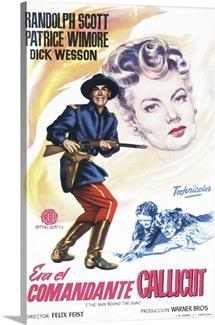 The Man Behind The Gun, 1953