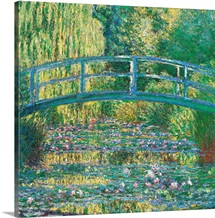 Waterlily Pond Green Harmony, by Claude Monet, 1899. Musee d'Orsay, Paris, France