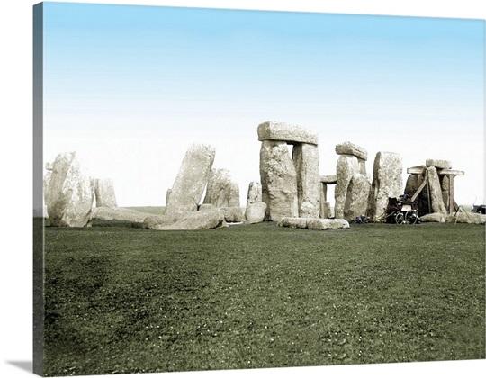 1887, Stonehenge, Wiltshire, England