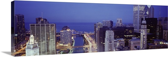 Chicago Skyline II