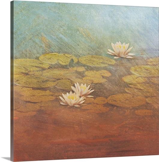 Pond Lilies I
