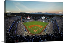 2016 MLB Playoffs: Stadium view as Chicago Cubs take on the LA Dodgers in game five
