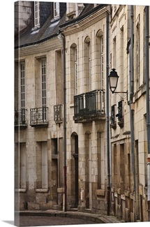 A backstreet in Tours, France.