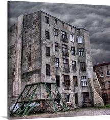 Abandoned, Broken Building