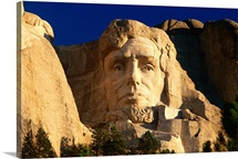 Abraham Lincoln, Mt Rushmore National Monument, South Dakota