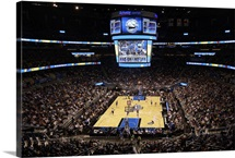 Amway Arena during a game between the Minnesota Timberwolves and the Orlando Magic