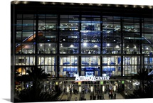 Amway Arena during a game between the Orlando Magic and the Chicago Bulls