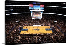 Amway Arena during a game between the Orlando Magic and the Los Angeles Clippers