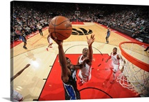 Andrew Nicholson of the Orlando Magic shoots the ball against the Toronto Raptors