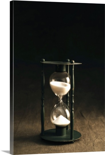Antique Sand Timer Photo Canvas Print Great Big Canvas
