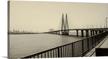 Bandra Worli Sea Link at Mumbai.