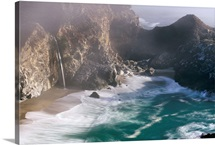 Beach, Big Sur, California, USA